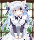 动漫猫女仆